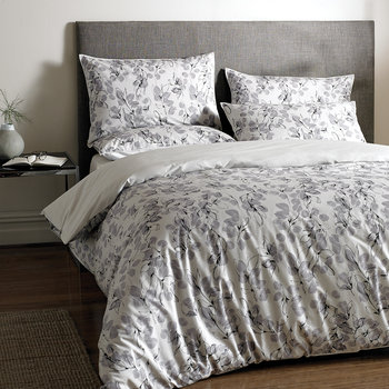 Linear Leaf Duvet Cover