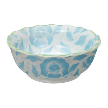 Botanique Small Bowl - Aqua/Green