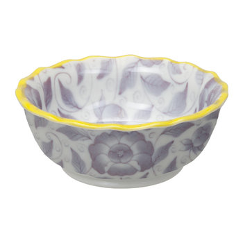 Botanique Small Bowl - Purple/Yellow