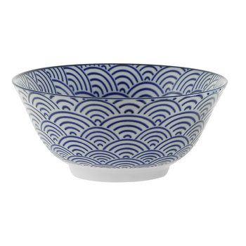 Nippon Blue Bowl - Wave