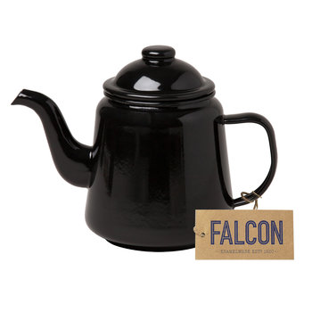 Teapot - Coal Black