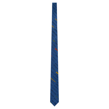 Viti Pointed Tie - Blue