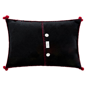 Fiesta Mi Casa Cushion - Black