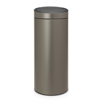 New Touch Bin - 30 Litres - Platinum