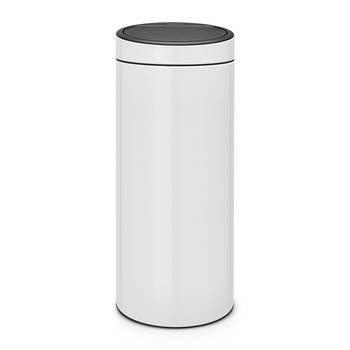 New Touch Bin - 30 Litres - White