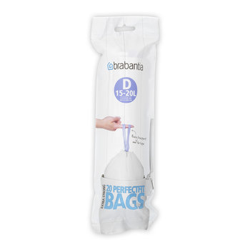 Perfect Fit Bin Bags - 15-20 Litre
