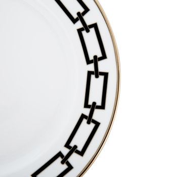 Catene Dinner Plate - Nero