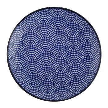 Nippon Blue Side Plate - Dot