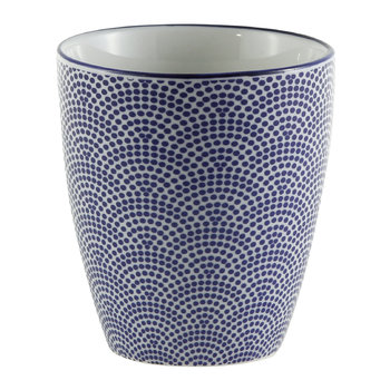 Nippon Blue Teacup - Dot