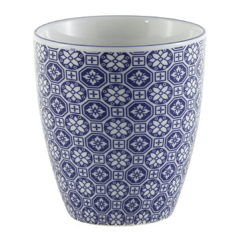 Nippon Blue Teacup - Flower