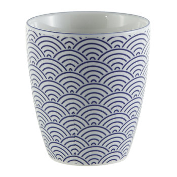 Nippon Blue Teacup - Wave