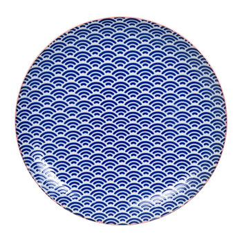 Starwave Dinner Plate - Small Wave - Blue/Pink