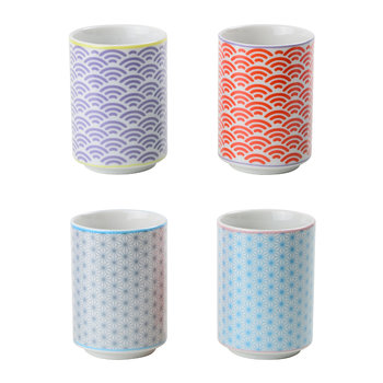 Starwave Teacup Gift Set - Mixed Set Of 4