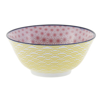 Starwave Bowl - Pink/Yellow