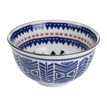 Ethnic Bowl - Black/Blue