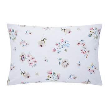 Scattered Pressed Flowers Pillowcase - 50x75cm