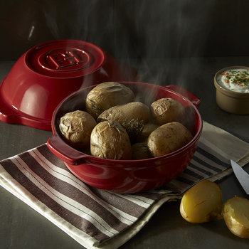 Potato Pot - Burgundy