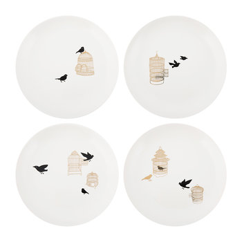 Freedom Birds Plate - Set of 4