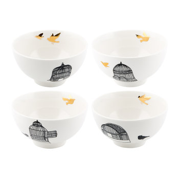 Freedom Birds Bowl - Set of 4