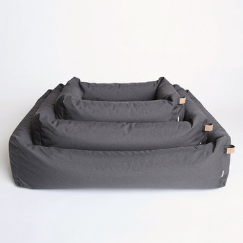 Sleepy Waterproof Deluxe Dog Bed - Granite