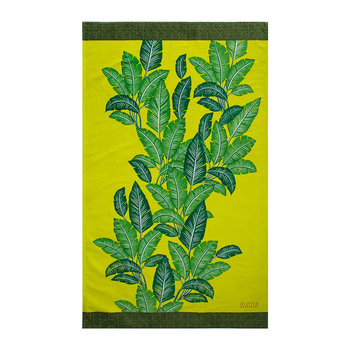 Havana Beach Towel - Citron