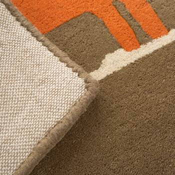 Mr Fox Rug - Cinnamon