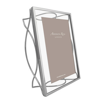 Chrome Elegance Photo Frame