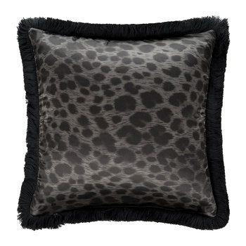 Diamonds Reversible Cushion - Black - 40x40cm