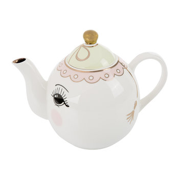 Teapot with Eyes