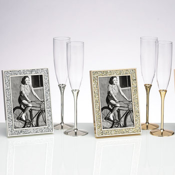 Simply Sparkling Photo Frame - Silver