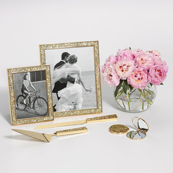 Simply Sparkling Photo Frame - Gold
