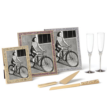 Simply Sparkling Photo Frame - Silver - 8x10""