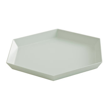 Kaleido Hexagon Tray - Small - Grey