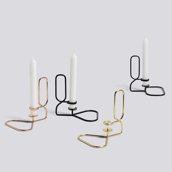 Lup Table Candle Holder - Brass