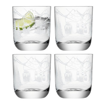 Alpine Tumbler - Set of 4 - Assorted