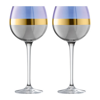 Bangle Balloon Wine Glass - Set of 2 - Blueberry