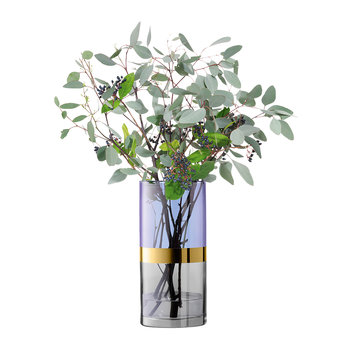 Bangle Vase - Blueberry - 30cm