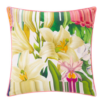 Encyclopedia Floral Pillow - 45x45cm