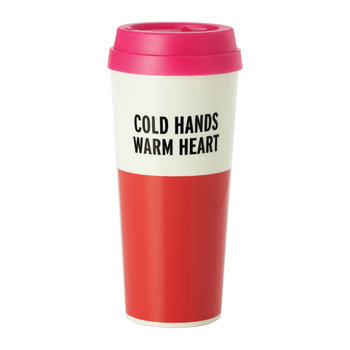 "Thermal Mug - ""Cold Hands Warm Heart"""