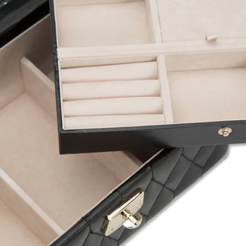 Caroline Black Jewelry Box