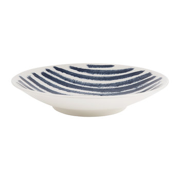 Indigo Rain Serving Bowl