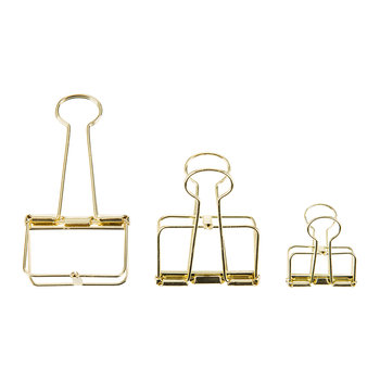 Outline Paper Clips - Set of 10