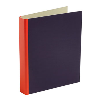 Spine Binder - Fluorescent Red