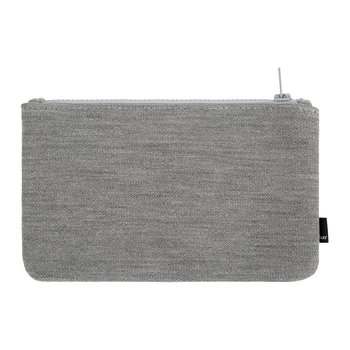 Zip Purse - Light Grey