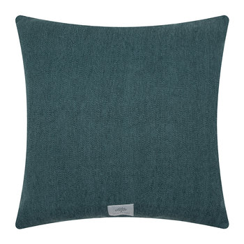Mulberry Tree Plaid Cushion - 50x50cm - Teal