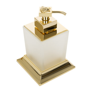 Gold Liquid Soap Dispenser - Gold