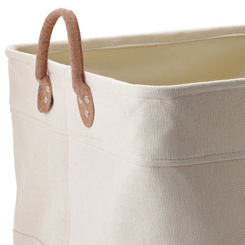 Lubin Storage Basket - Beige - Medium