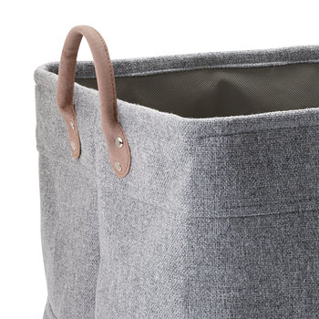 Lubin Storage Basket - Silver Grey