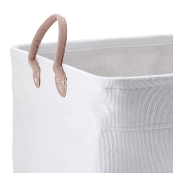 Lubin Storage Basket - White