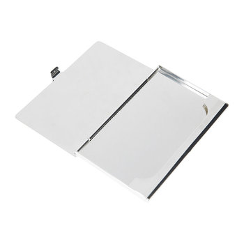 Silver Street Lets Do Lunch Business Card Holder